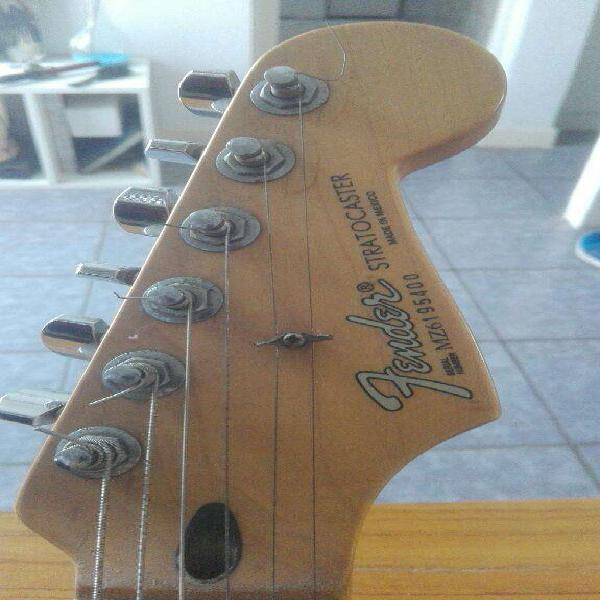 Fender stratocaster mexico super bullets