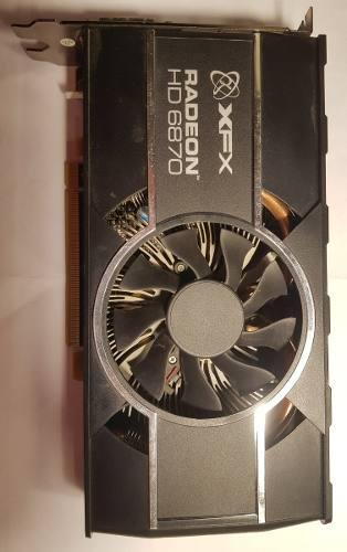 Placa De Video Xfx Radeon Hd 6870