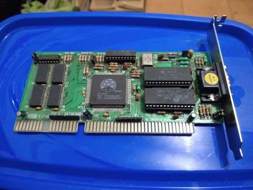 Placas de video isa 16 bits. varias marcas modelos. retro pc