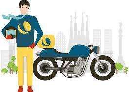 Realizo servicio de mensajeria en moto en toda zona caba.