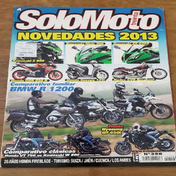 Revistas solo moto 30 españa