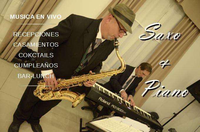 Show de jazz para eventos saxo y piano