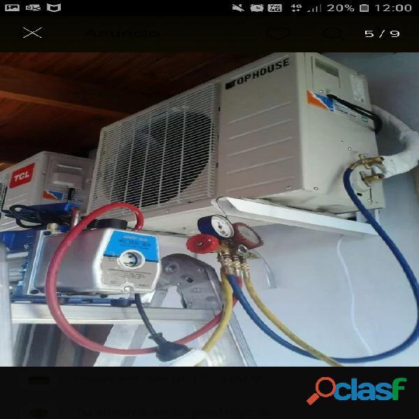 Servicio tecnico refrigeración y gas