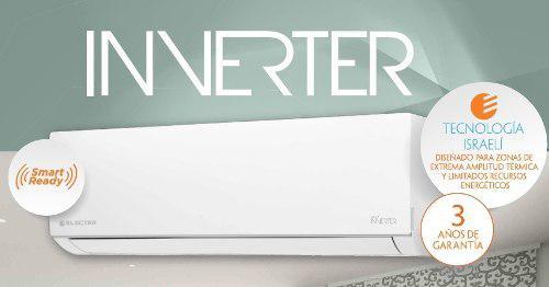Aire acondicionado electra inverter white 6000 frigorias