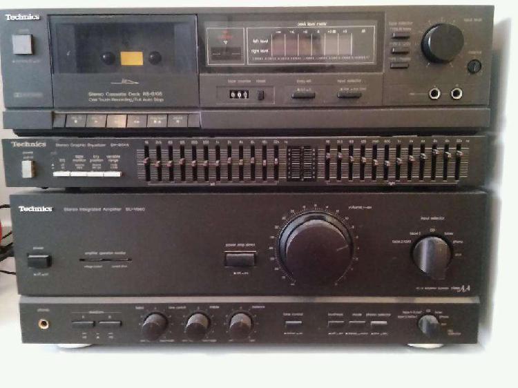 Equipo de audio technics japon, japon