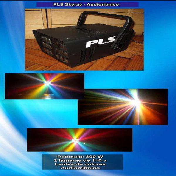 Efecto luces audioritmicas pls skyray dj no led