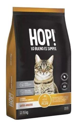 Hop! gato adulto 15 kg el molino