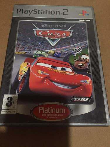 Juego disney pixar cars ps2 físico original