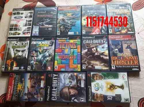 Juegos originales para play 2 ntsc (el precio es por c/u)