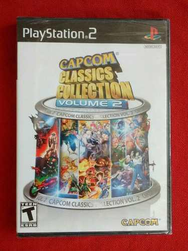 Juegos ps2 capcom classics collection volumen 2 nuevo 20 en1