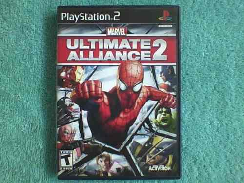 Juegos Ps2 Marvel Ultimate Alliance 2 Original Inconseguible