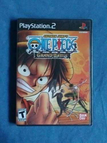 Juegos Ps2 One Piece Grand Battle Original Nuevo Sellado