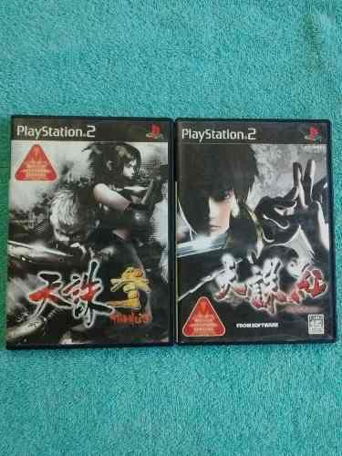 Juegos ps2 tenchu 3 o tenchu kurenai originales japoneses