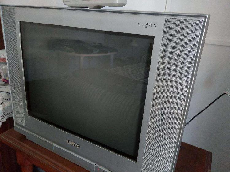 Liquido tv sanyo vizon 21 20% off con control remoto