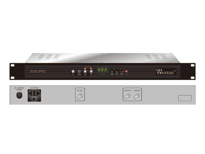 Modulador rf catv audio video