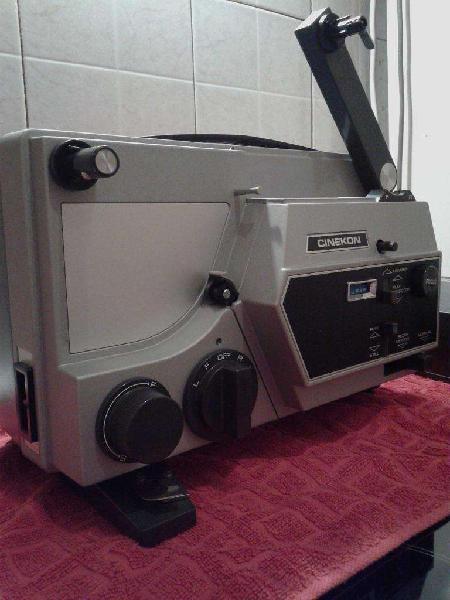 Proyector cinekon s80 instduo 8mm perfecto estado!!