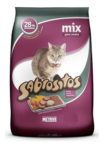 Sabrositos mix o pescado 20 kg gatos el molino