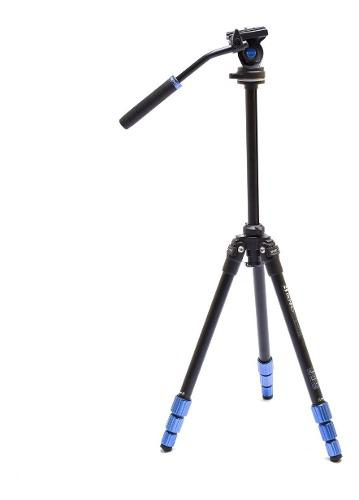 Tripode video cabezal fluido benro travel slim tsl08as2csh