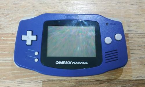 Gameboy advance + cargador y pilas de regalo !!!