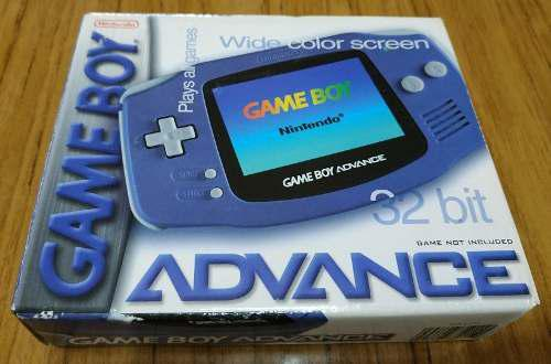 Gameboy advance impecable completa en caja unica desc 1000