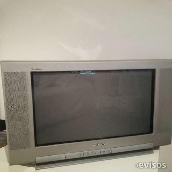 Hermoso televisor sony de 21 pulgadas pantalla plana en