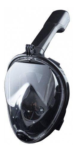 Snorkel mascara buceo integral cara go pro,full face