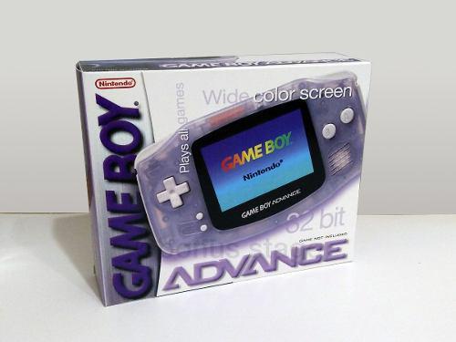 Solo caja custom repro game boy advance sp elegir modelos