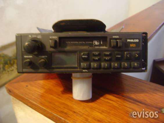 Vendo radio auto stereo philco digital, codificado a casette