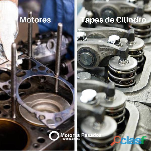 Rectificación de motores y tapas de cilindro
