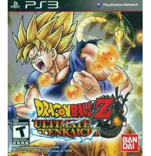 Dragon Ball Z Ultimate Tenkaichi Ps3 Juego Original Físico