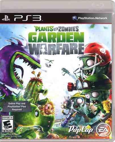 Plant Vs Zombies Garden Warfare Ps3 Juego Fisico