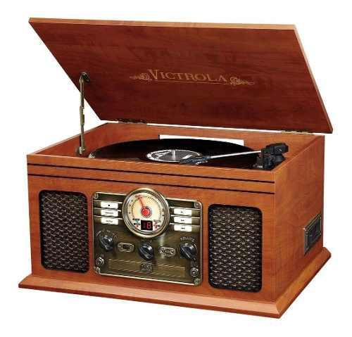 Tocadisco c/ radio fm/am cd cassete bluetooth