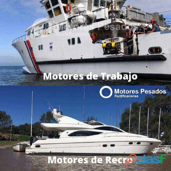Reparación integral de motores marinos