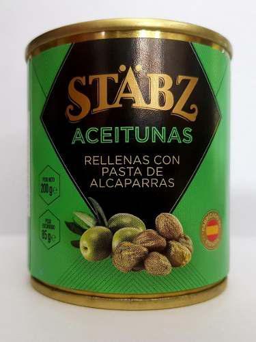 Aceitunas stabz 20 un x 200g combinables envio gratis oferta