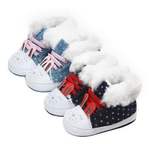 Botitas Beba Modelo Conejito Invierno Preciosas !!miralas!!