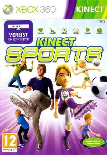 Kinect sports xbox 360 juego nuevo original fisico sellado