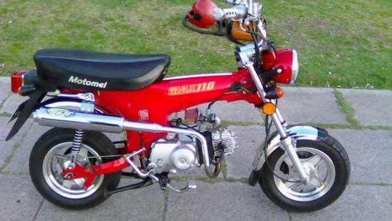 Motomel max 110cc inmaculada titular al dìa (detalle