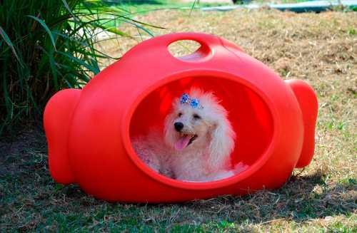 Cucha mikami perros diseño rotomoldeada - no fibra de