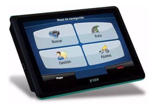 Gps xview 7 pulgadas con tv tda con accesorios (nuevo)