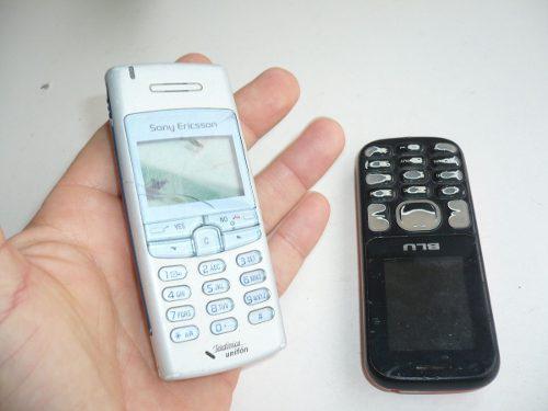 Lote celulares sony ericsson blu a revisar reparar repuesto