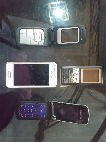 Lote de celulares para repuesto o reparación.