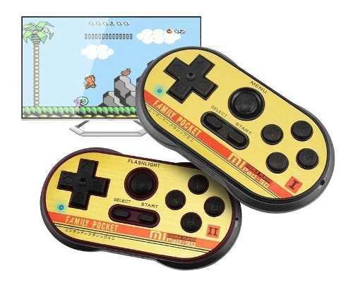Mini consola family pocket 2 joystick juegos clasicos nes