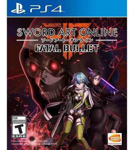 Sword art online fatal bullet juego ps4 cd fisico sellado