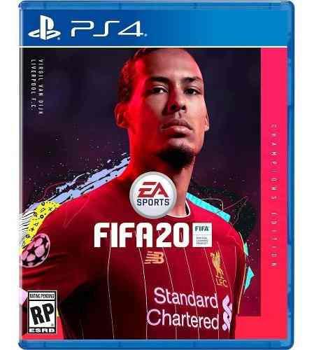 Fifa 20 ps4 champions edition fisico sellado original
