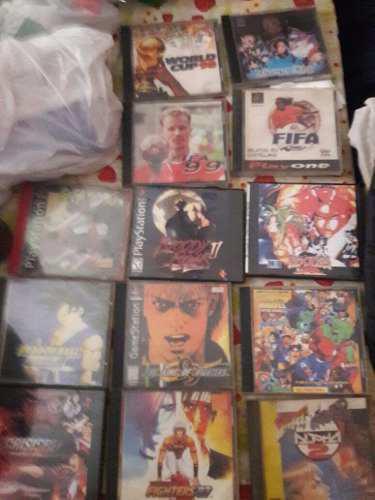 Lote de juegos de playstation 1