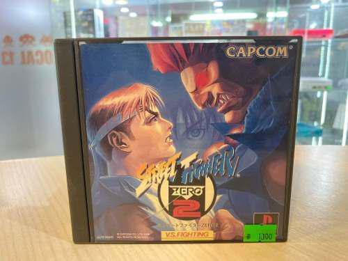 Street fighter zero 2 juego ps1 original local belgrano