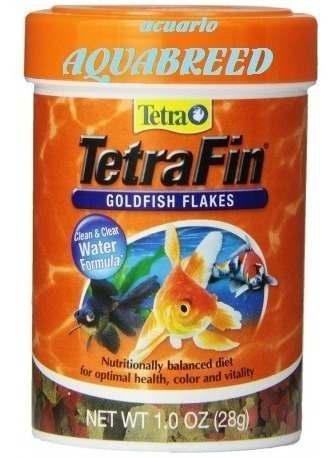Tetra fin 28g alimento en escamas p/ peces de agua fria