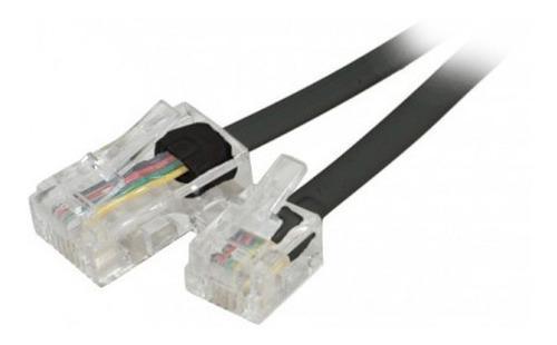 Cable Para Modem O Telefono C/ Fichas Rj11 10 Mts... Anri Tv