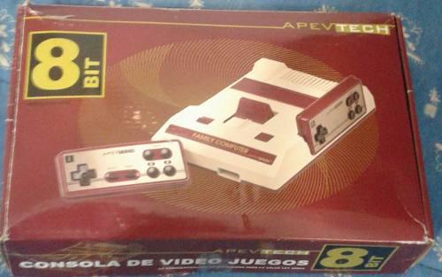 Consola video juego 8 bit !!!