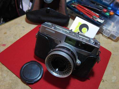 Petri 7s cámara 35mm telemetrica. garantia fobos.